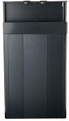 CQube base cabinet black with shelf